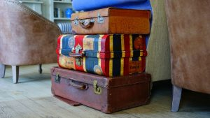 using your suitcases is one of the eco-friendly ways to use the packing supplies