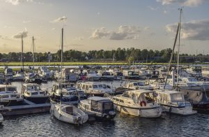 Picture of boats in a marina