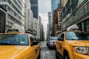 yellow taxis in NYC neighborhoods for rental investment