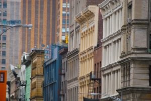 Soho in NYC as the host of one of the best NYC galleries to visit