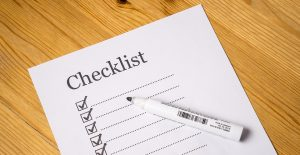 overcome the fear of moving house - a checklist and a marker