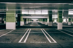 empty parking space