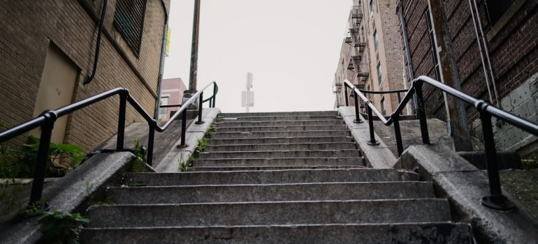 Stairs in the Bronx